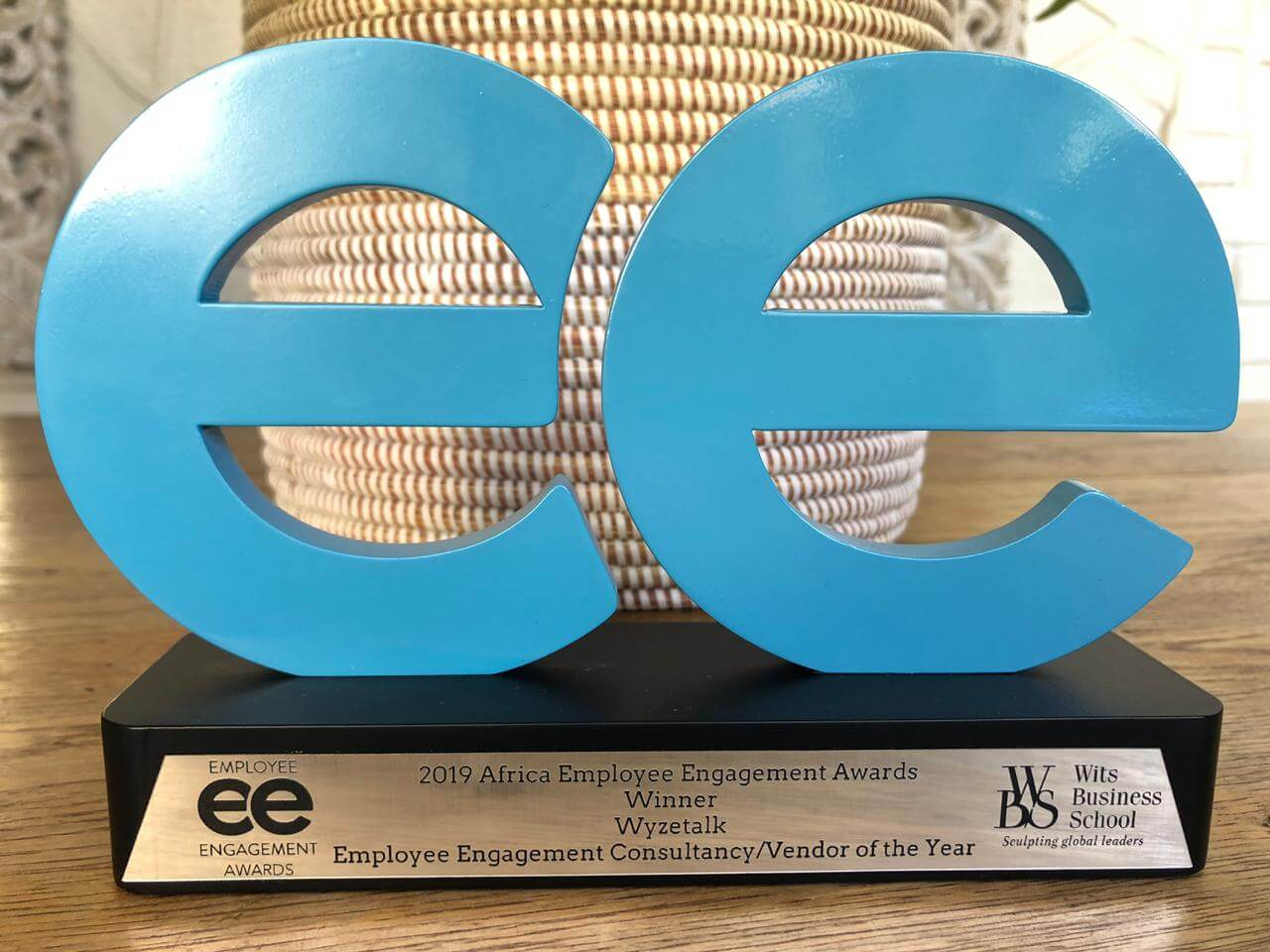 Wyzetalk wins 2019 Africa Employee Engagement Agency Vendor of the Year
