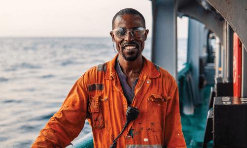 seafarer out at sea
