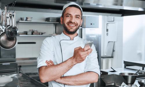 food industry frontline employee