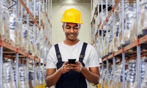 warehouse employee mobile-app